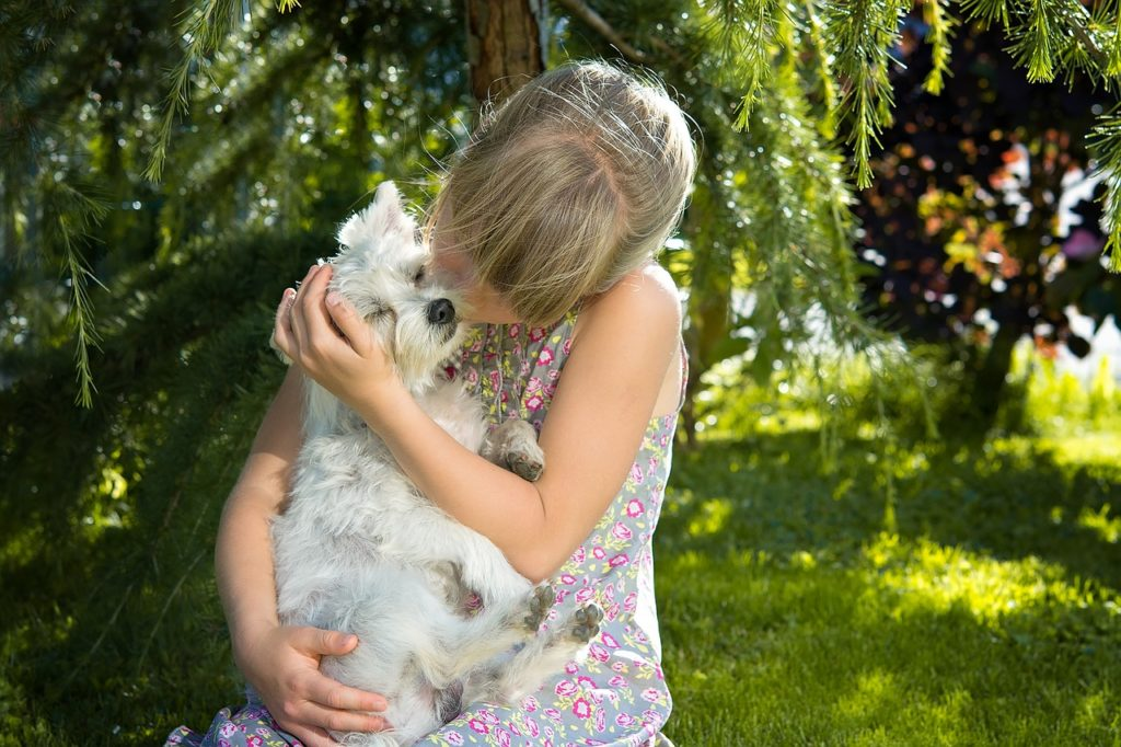 offrir un chien à sa fille